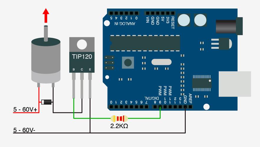 Adam meyer | Arduino + TIP120