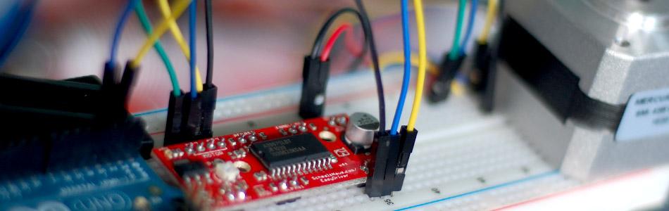 bildr Use The EasyDriver Stepper Motor Driver Arduino
